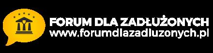 ✅ Forum dla Zadłużonych - Pomoc prawna dla dłużników